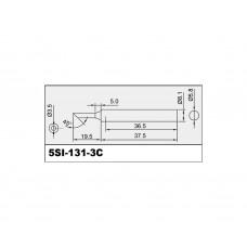 Жало для паяльника SI-131 Proskit 5SI-131-3C