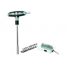 Набор бит и головок с Т-образной ручкой ProsKit SD-9701M