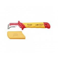Нож для зачистки кабеля ProsKit PD-V003D серповидный