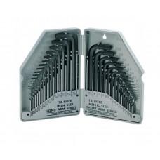 Набор штифтовых ключей HEX ProsKit 8PK-027