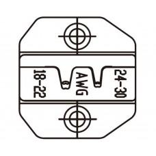 Матрица для плоских неизолированных разъемов РП-П, РП-М и разъемов D-SUB V.35 ProsKit 1PK-3003D36